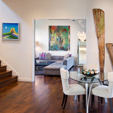 Contemporary Dining Room by James D. LaRue Architects