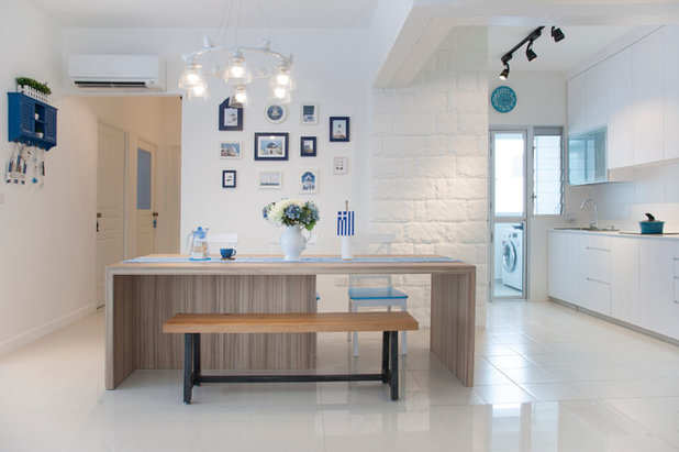 Dining Room by Edge Interior Pte Ltd
