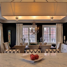 Contemporary Dining Room by IMBUE Merchandising & Design