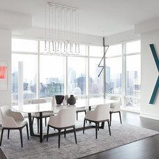 Modern Dining Room by Tara Benet Design