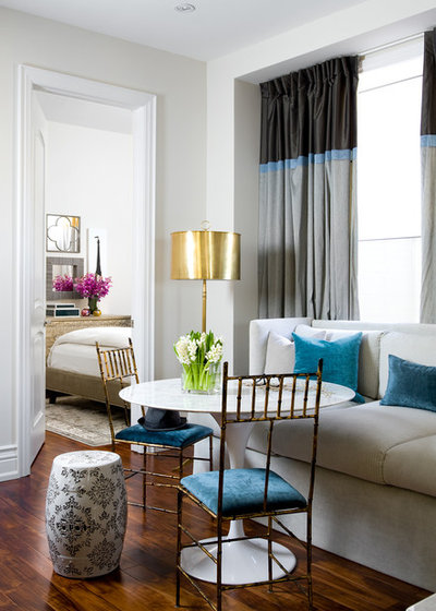 Eclectic Dining Room by Toronto Interior Design Group | Yanic Simard