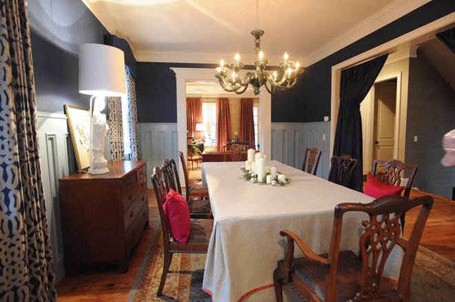 Traditional Dining Room by Blount Architectual and Interior Design