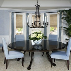 Dining Room by M. Roy Interior Design