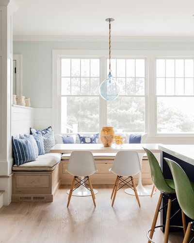 Beach Style Dining Room by K.Marshall Design Inc.