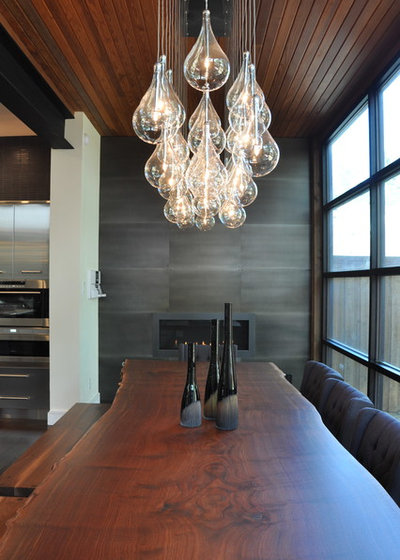 Contemporary Dining Room by Smith & Ragsdale Interior Design