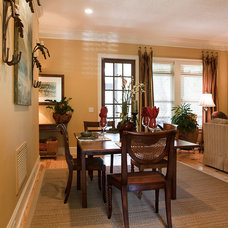 Traditional Dining Room by Trantow Design