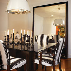 Traditional Dining Room by foley&cox