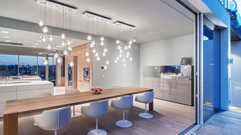 Bocci LED Pendant Lights 14 Series in Dining Room