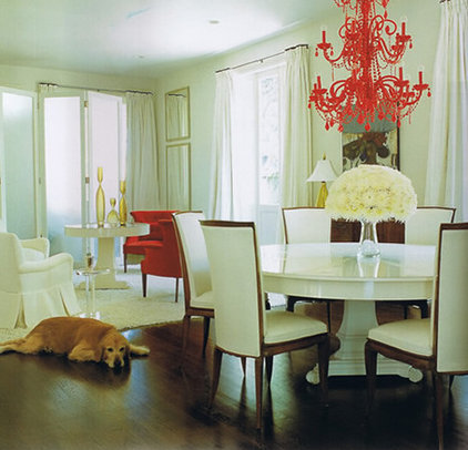 Eclectic Dining Room by Bockman + Forbes Design