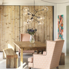 eclectic dining room by Incorporated
