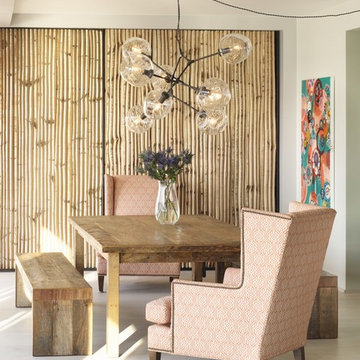 Bohemian Apartment  Dining Room