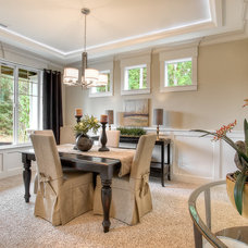 Traditional Dining Room by Soundbuilt Homes