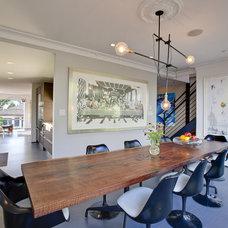 Modern Dining Room Boiler Residence