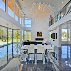 Contemporary Dining Room by View Point Windows, Inc.