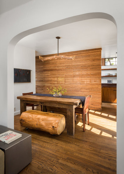 Contemporary Dining Room by Hsu McCullough