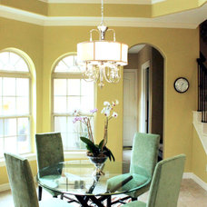 Contemporary Dining Room by By Design Interiors, Inc