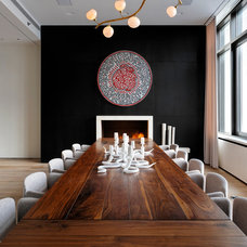 Modern Dining Room by CNR Group Inc.