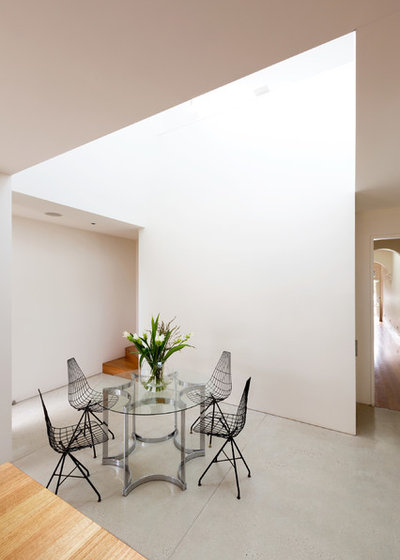 Contemporary Dining Room by Fearns Studio