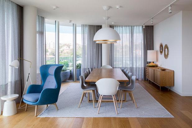 Scandinavian Dining Room by Stark Design Pty Ltd