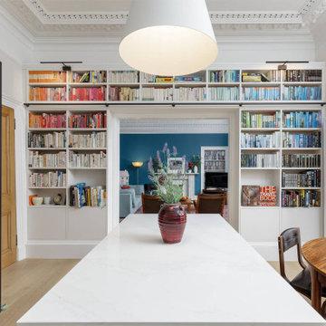 Bookshelves, Cannonmills, Edinburgh