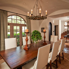 Mediterranean Dining Room by Thompson Custom Homes