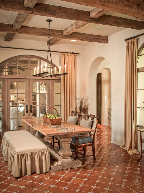 Terracotta Tile Floor Houzz