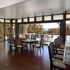 Contemporary Dining Room by Eck | MacNeely Architects inc.