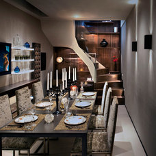 Contemporary Dining Room by Zephyr Interiors