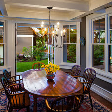 Craftsman Dining Room by Karl Neumann Photography