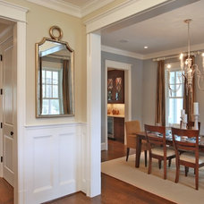 Traditional Dining Room by Finecraft Contractors, Inc.