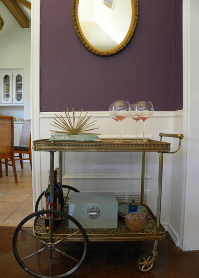 Shabby-chic Style Dining Room by Sarah Greenman