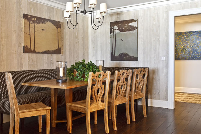 Contemporary Dining Room by Phoebe Howard