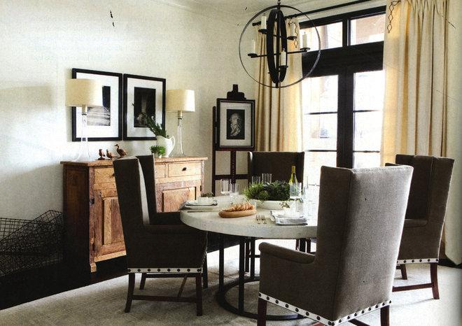 Contemporary Dining Room by Yvonne McFadden LLC