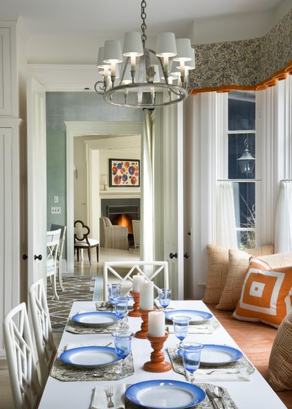 Traditional Dining Room by Ike Kligerman Barkley