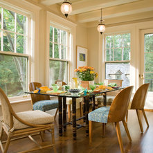 traditional dining room by laurie s woods asid breakfast area lighting