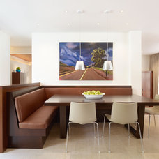 Modern Dining Room by Rockefeller Partners Architects