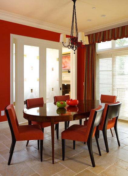 Contemporary Dining Room by Sroka Design, Inc.