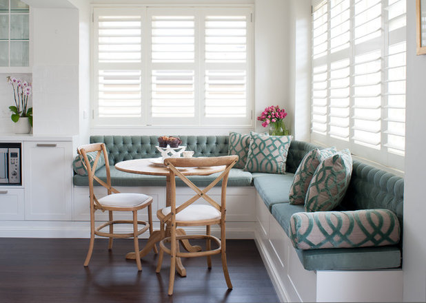 Beach Style Dining Room by Victoria Waters Design Pty Ltd