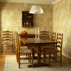 Eclectic Dining Room by Dunlap Design Group, LLC