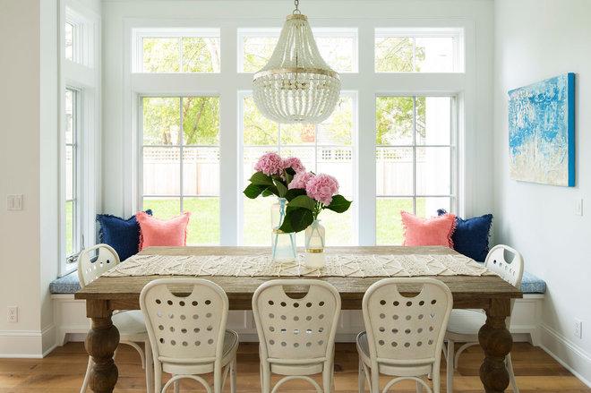 Contemporary Dining Room by Martha O'Hara Interiors