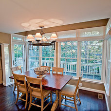 Traditional Dining Room by Paul L. Johnson Interiors