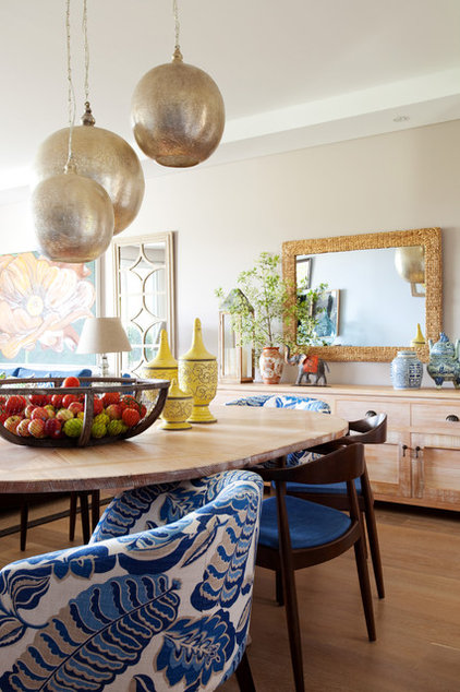 Eclectic Dining Room by AS you see it