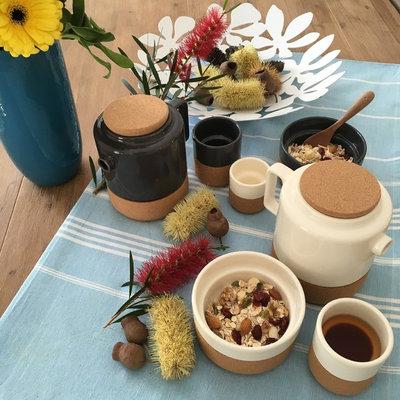 Mediterranean Dining Room by Casetta Living