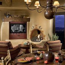 Southwestern Dining Room by Bess Jones Interiors