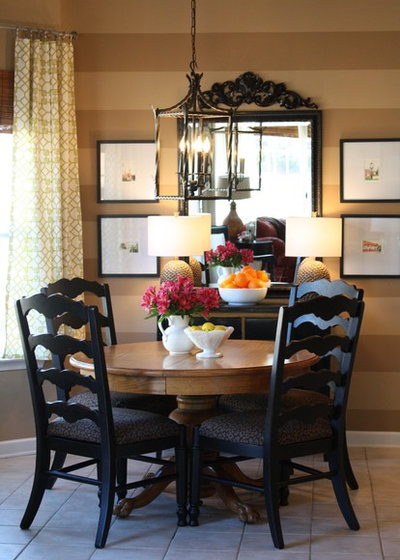 Contemporary Dining Room by Emily A. Clark