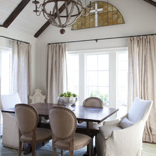 Traditional Dining Room by Julie Couch Interiors
