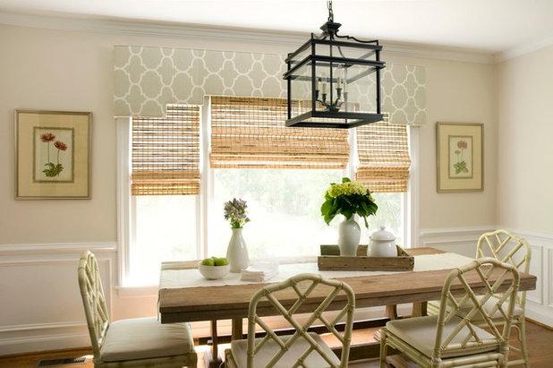 Traditional Dining Room by Liz Carroll Interiors