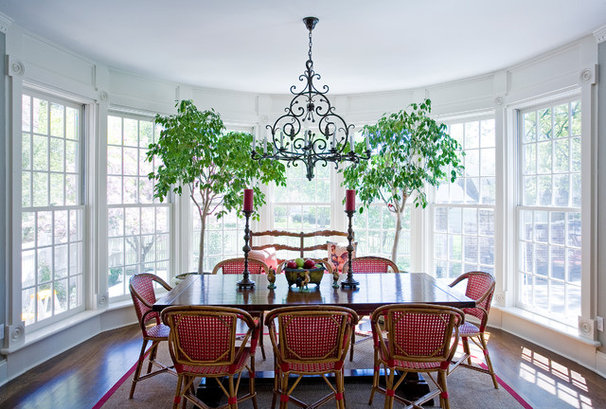 Traditional Dining Room by Roy Campana Photography