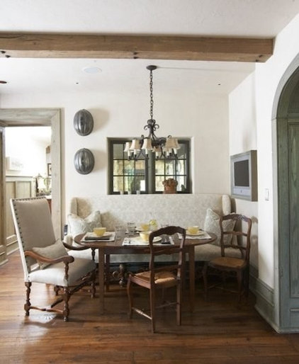 traditional dining room by Tracery Interiors