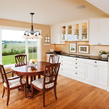 Breakfast Room with Built-In Buffet